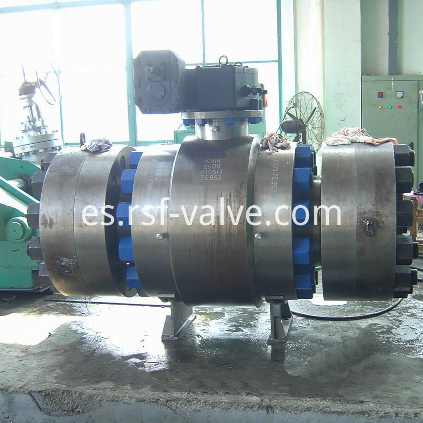 Trunnion Mounted Ball Valve Class2500 2